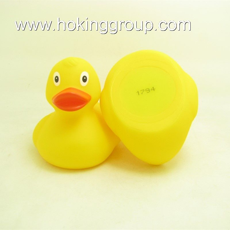 Floating upright numbered weighted race duck
